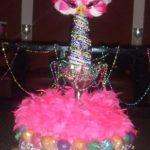 Mardis Gras Cakepop Tower