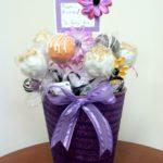 Purple Glitter (BD bouquet)